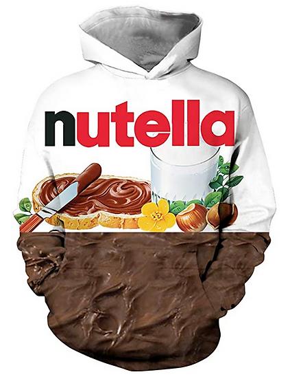 Felpa Nutella ( Spedizione in 15/20 giorni )
