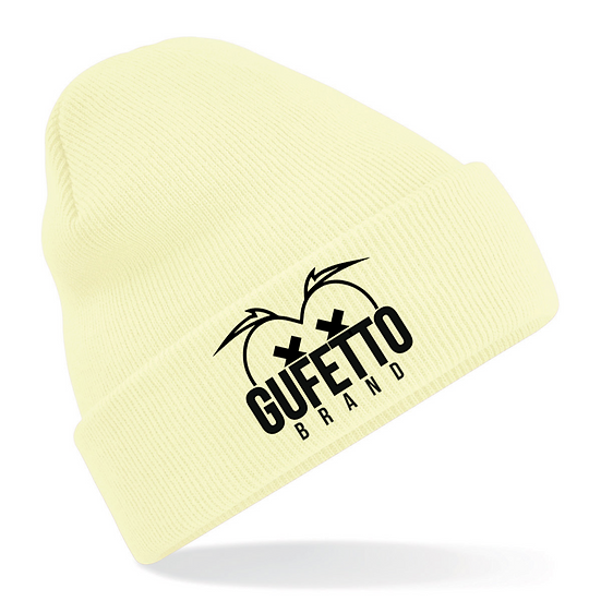 Cappellino Gufetto Brand Mountain Giallo pastello