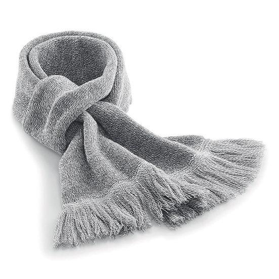 Sciarpa in tessuto a maglia a doppio strato