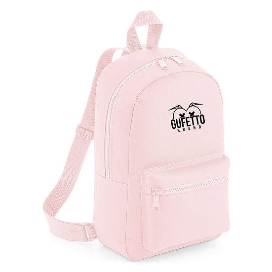 Zaino Essential Fashion Powder Pink Gufetto Brand ( con Logo Ricamato )