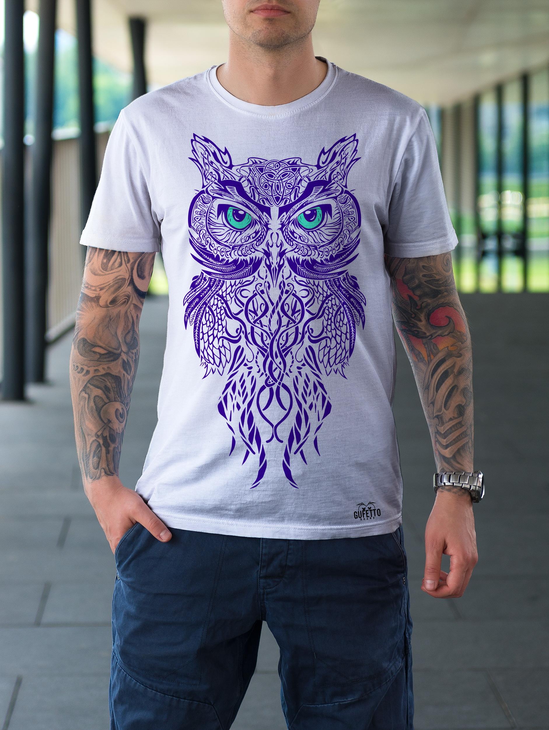tribal owl violet