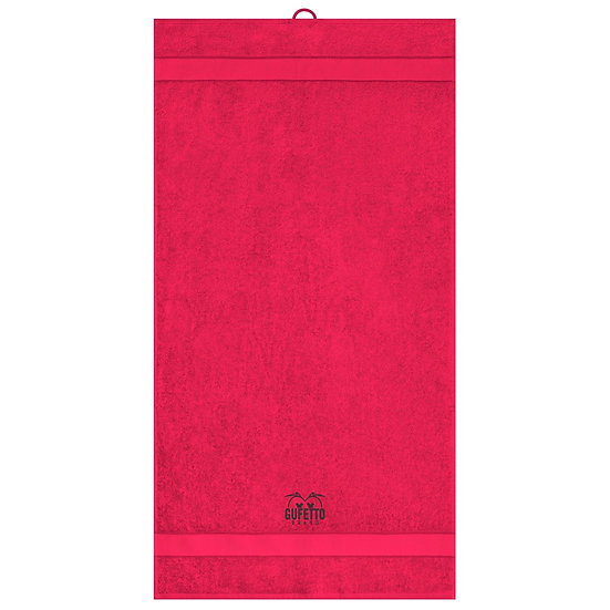Asciugamano Gufetto Brand Red ( Logo Ricamato )