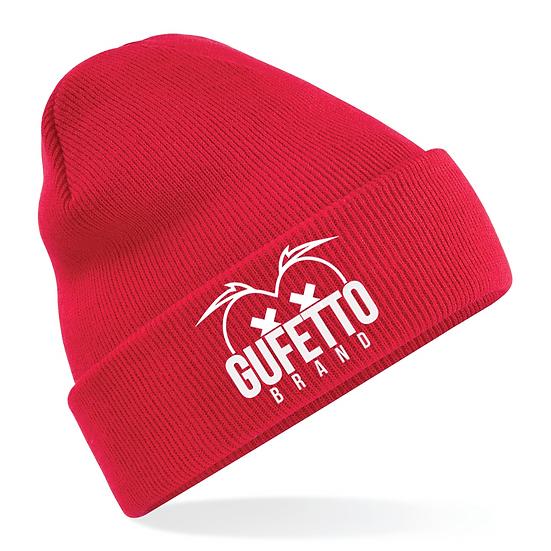 Cappellino Gufetto Brand Mountain Rosso