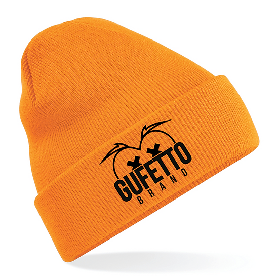 Cappellino Gufetto Brand Mountain Orange Two