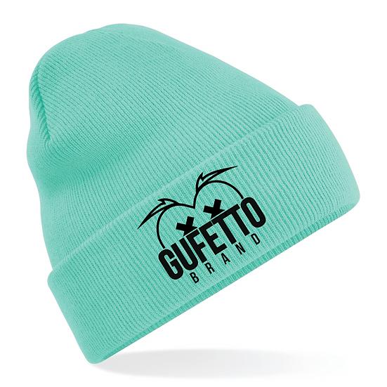 Cappellino Gufetto Brand Mountain Acqua marina