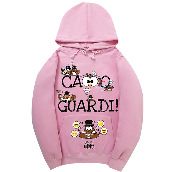 BLACKF. Felpa PINK donna Ca..o Guardi LIMITED EDITION GUFETTI