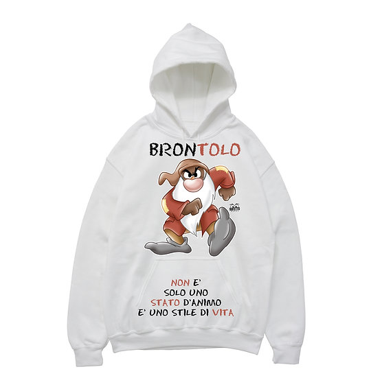 Felpa donna BRONTOLO 4.0 ( B6290 )