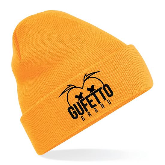 Cappellino Gufetto Brand Mountain Orange