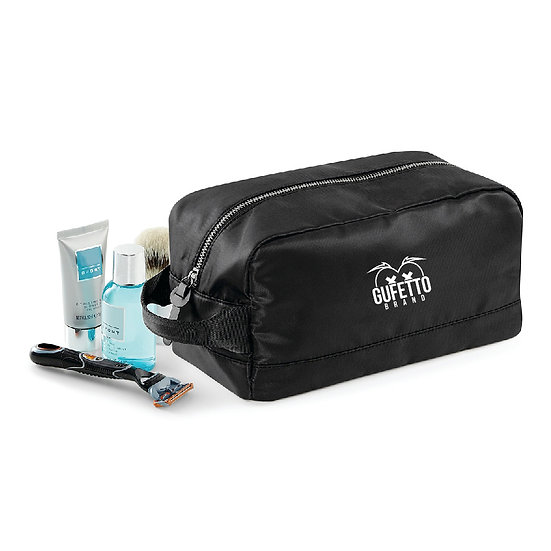 Wash Bag Gufetto Brand ( con Logo Ricamato )
