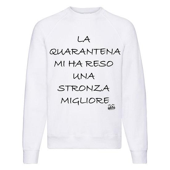 Felpa Classic Donna La Quarantena ( Q8516 )