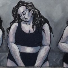 "SELF-WORTH | 24"" x 66"" 