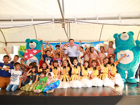 TQM จัดวันเด็กแห่งชาติ TQM MAGIC DAY With Blue Beary เสกความฝัน ปันความสุข ปี 7 พร้อมแจกทุนการศึกษา