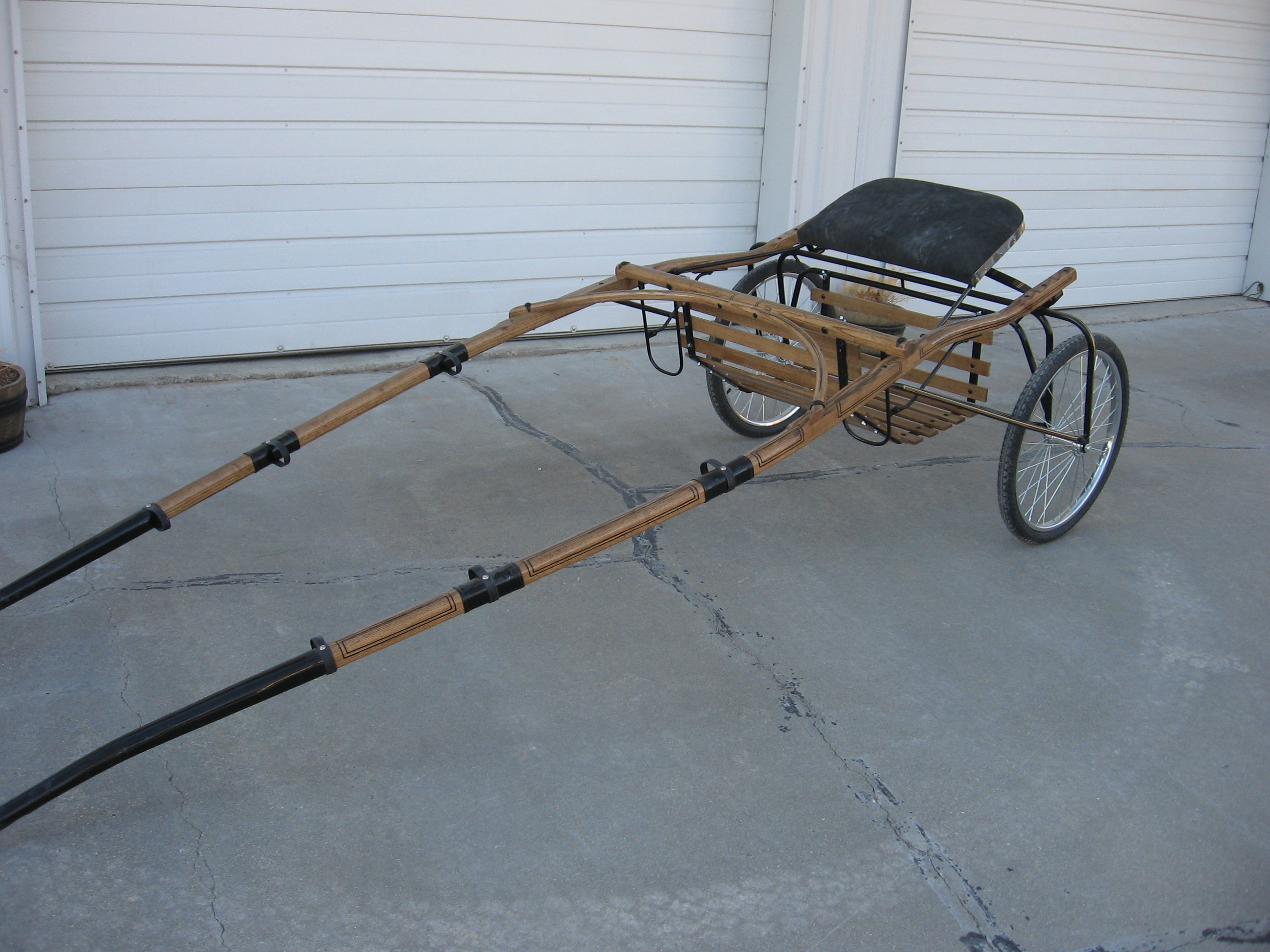 Horse Size Show Cart