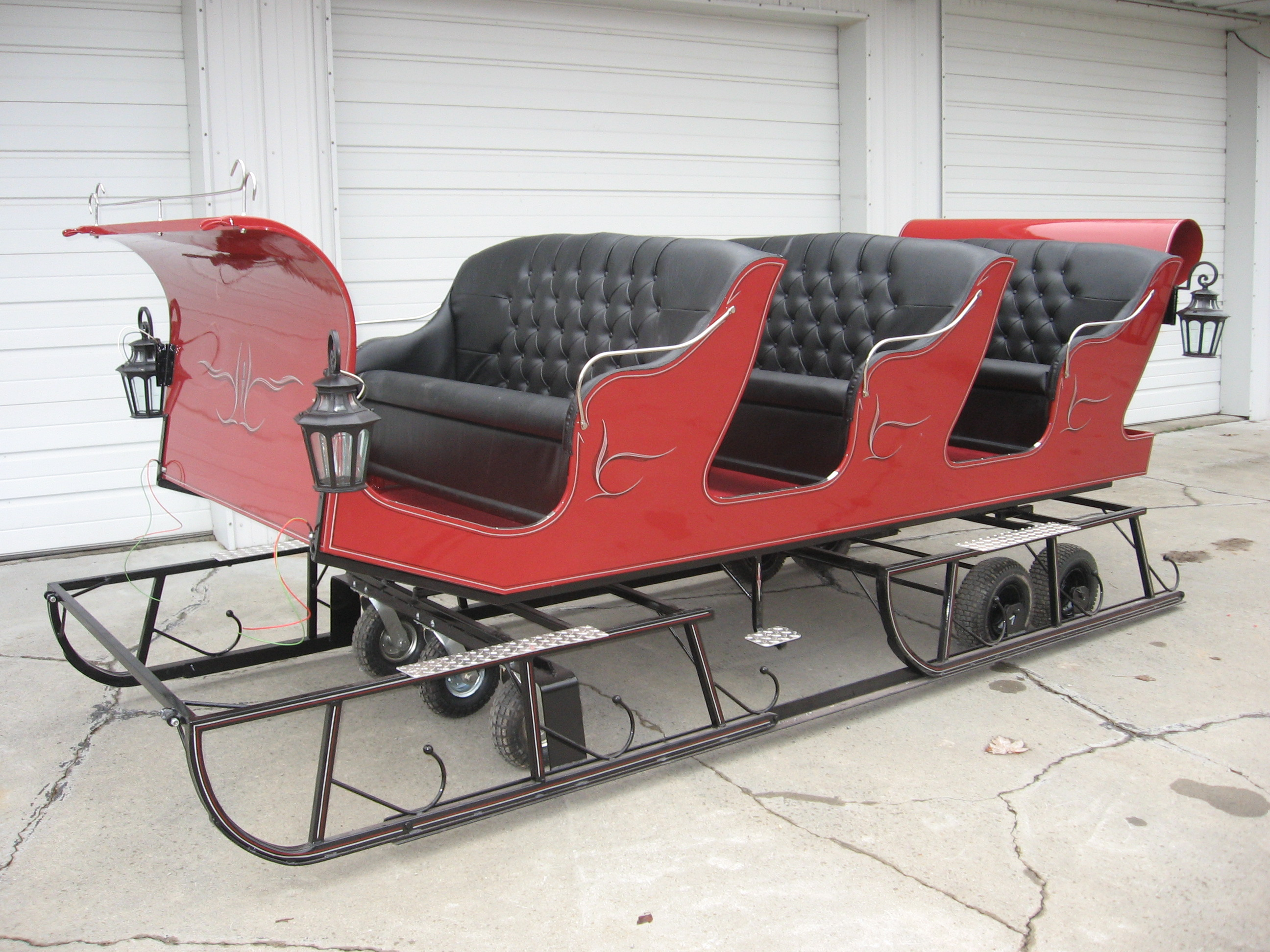 Three Seater Sleigh