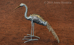 Silver Swan ~ Sold