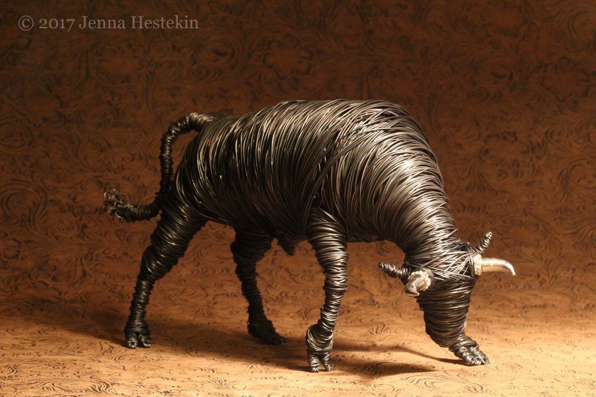 Charging Bull ~ Commission - Sold