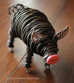 Pig, Pink Nose ~ Commission - Sold