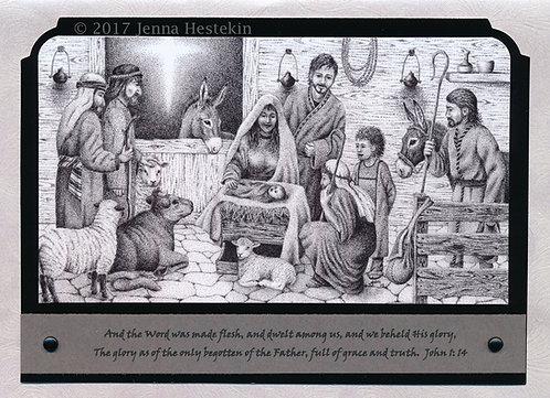 Christmas Cards ~ Nativity