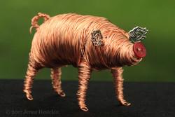 Copper Pig ~ Sold