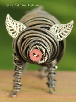 Little Brown Pig ~ Sold