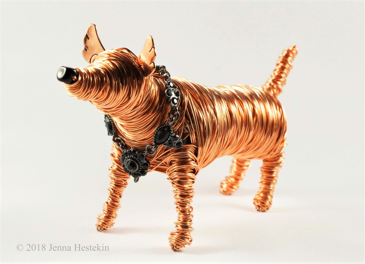 Copper Dog ~ Commission - Sold