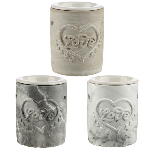Love Heart Oil Burner