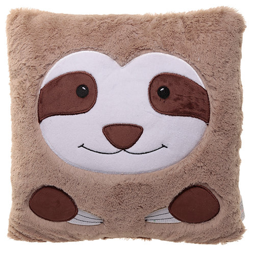 Fun Sloth Face Cushion