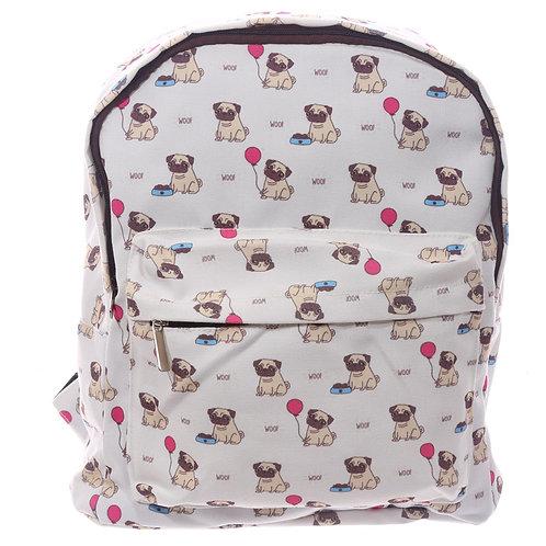 Pug Design Rucksack