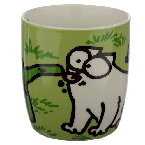Green Simon Cat Mug