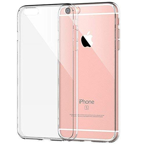 Soft Silicone Slim Logo Cover for iPhone 6/6s
