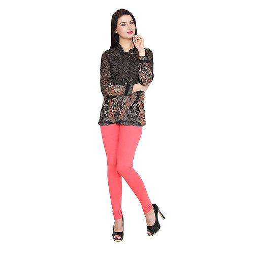 Women's  Baby pink Cotton Stylish legging