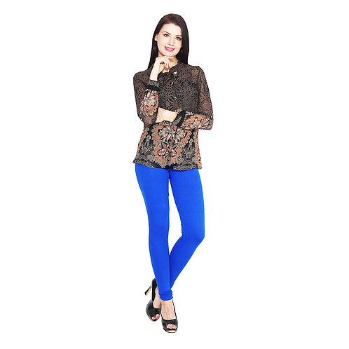 Women's royal blue Cotton Stylish legging
