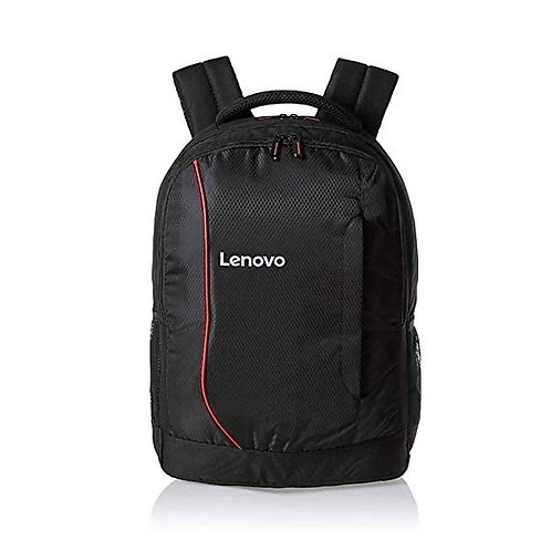 Laptop Bag 15.6 inch backpack Black Red