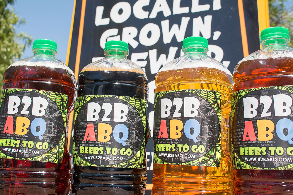 B2B ABQ Growler to go!