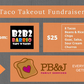 PB&J Family Services Fundraiser at B2B2 Barrio