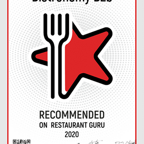 Bistronomy B2b has been awarded a Recommendation badge by Restaurant Guru