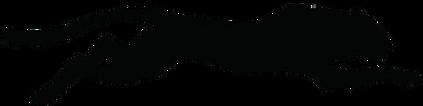 Clipart of Jaguar Leaping