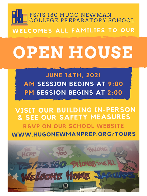 June 2021 Open House Flyer