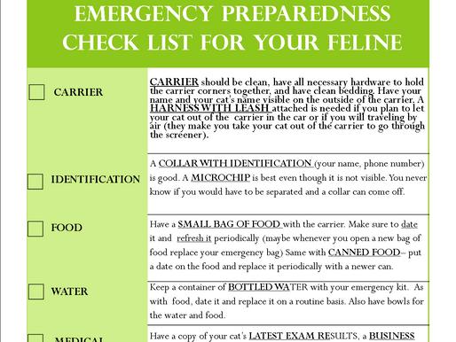 Animal Disaster Preparedness Day