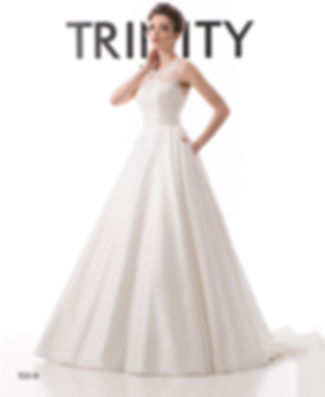 T0318 - Платье Свадебное - TRINITY bride