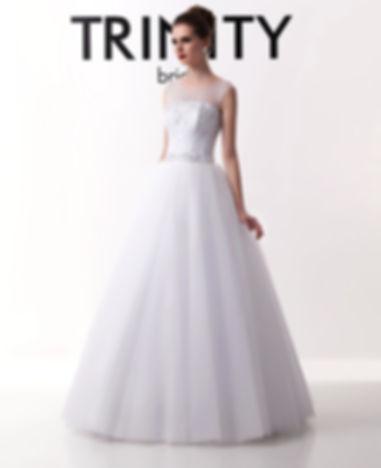 T0136 - Платье Свадебное - TRINITY bride