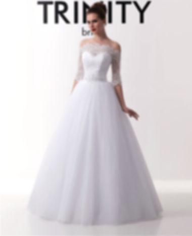 T0137 - Платье Свадебное - TRINITY bride