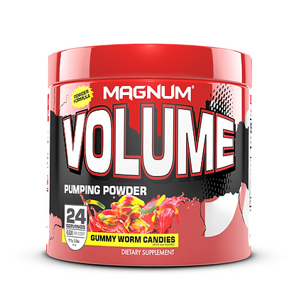 Magnum Volume Powder Gummy Worm Candies