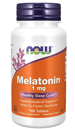 Melatonin 1mg (with VitB6, magnesium, niacin)