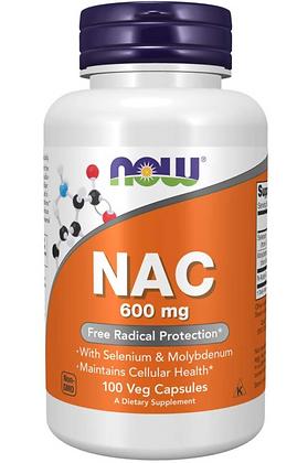NAC 600mg Veg Capsules