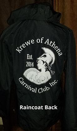 Official KOA lined Raincoat w/Storage bag
