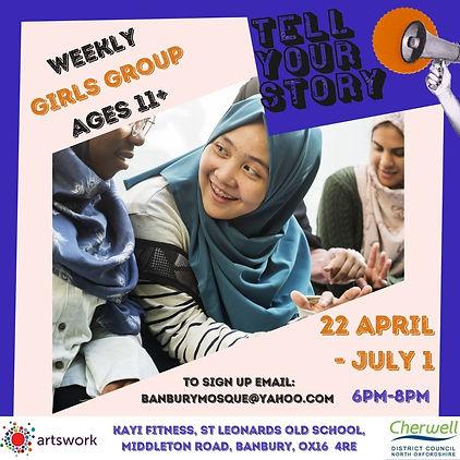 TYSF KAYI FITNESS WORKSHOPS- GIRLS GROUP