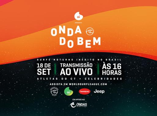 WSL promove o inédito 'Onda Do Bem', torneio de cunho social em apoio ao Projeto Ondas