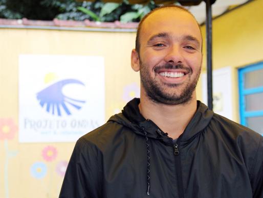 Caio Ibelli se junta a campanha de arrecadação de fundos promovido pelo Projeto Ondas