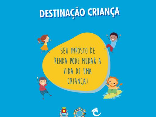 Projeto Ondas participa da campanha Destinação Criança